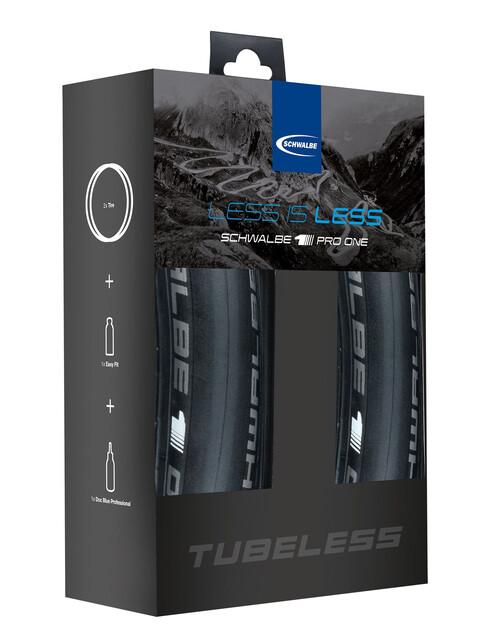 SCHWALBE Pro One Tubeless-Set 25-622
